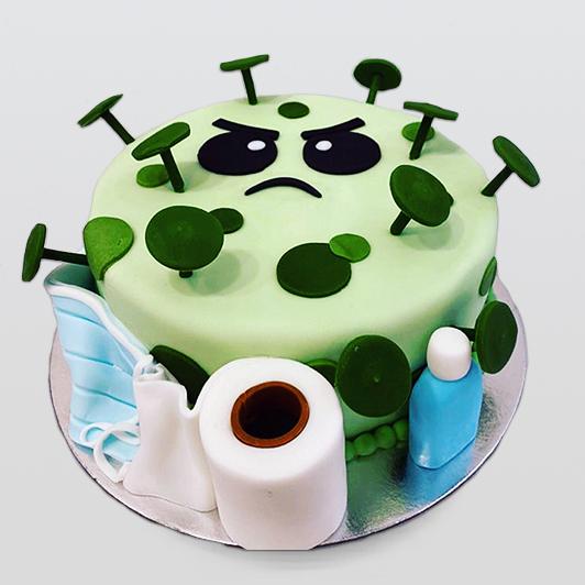 Corona style cake