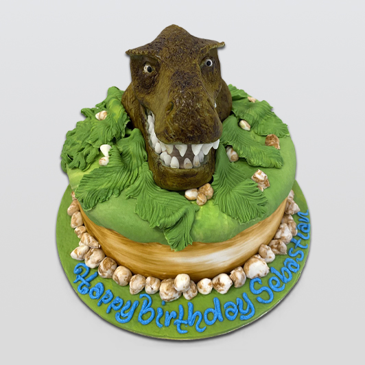 Dinosaur Cake for birthday