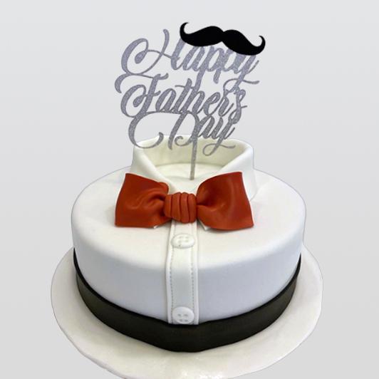 Father's Day Bo wtie Cake