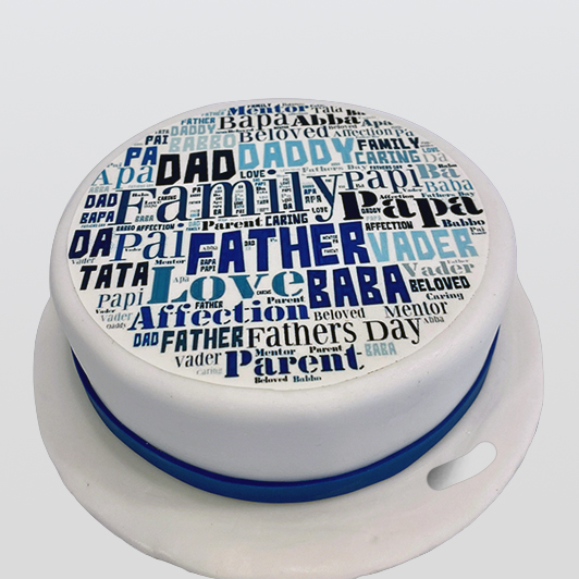 Edible Print - Father's Day Cake