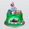 fortnite design cake