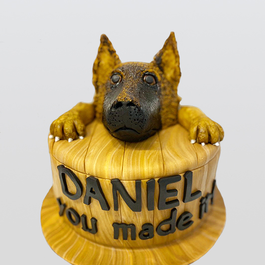 German Shephard Cake