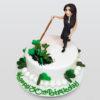 Irish dance cake