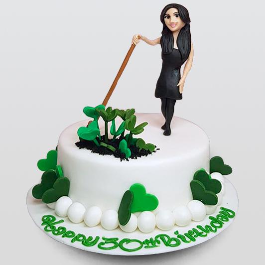 Irish dancing on cake