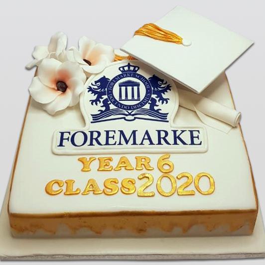 School Graduation Cake