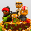 Shaabiyat Al Cartoon Cake