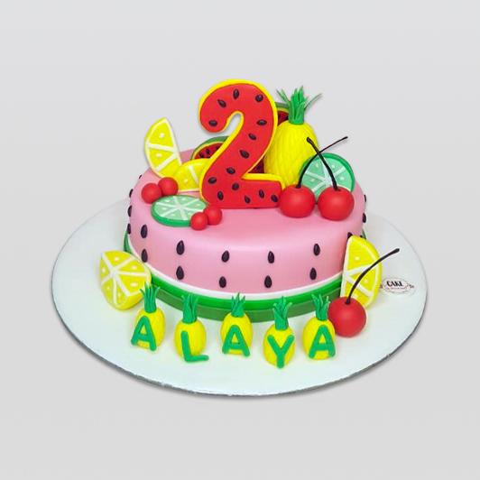 Twotti Fruitti Cake