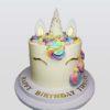 Unicorn Drip Cake for birthday