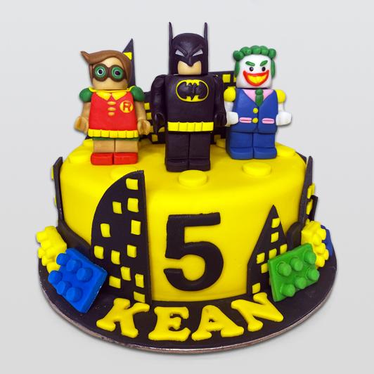 Batman, Robin and Joker Cake