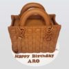 Dior birthday handbag cake