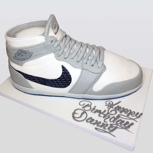 Dior Air Jordan sneakers cake