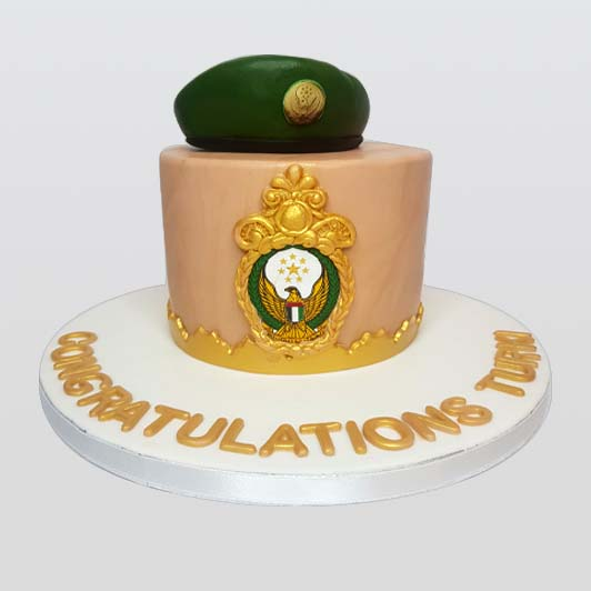 Military police cake