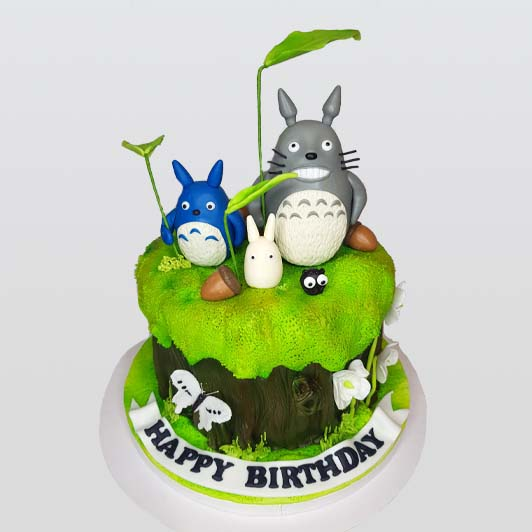 My Neighbor Totoro theme cake