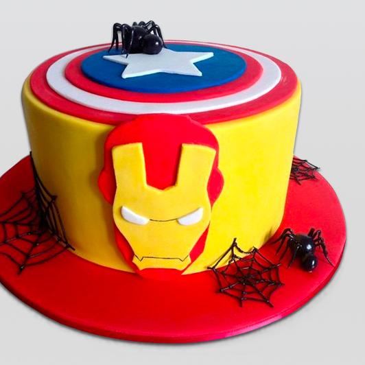 Iron man Superhero cake