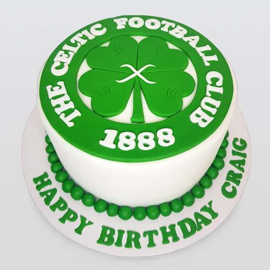 birthday cake celtic football club