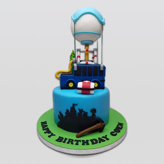 Fortnite Bus Cake