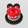 Minnie Mouse Red Cake