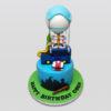 Fortnite theme Bus Cake