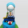 Fortnite Bus birthday Cake