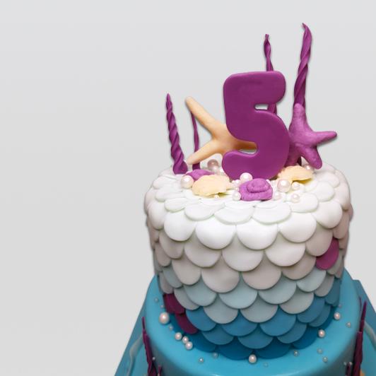 Mermaid Ocean Cake