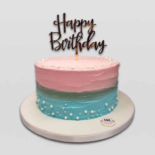 Buttercream Pastel Cake