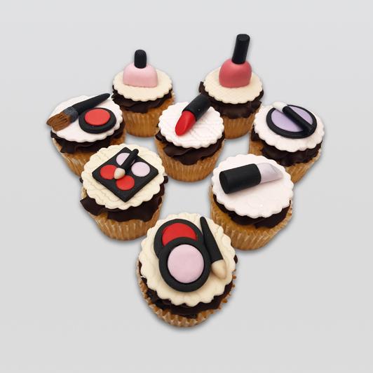 makeup mini cupcakes